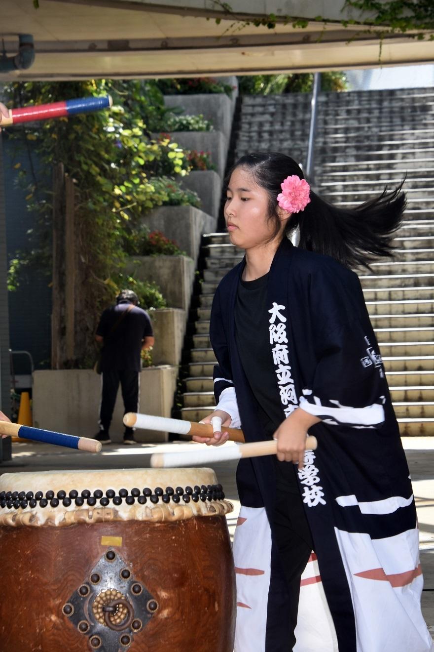 花の文化園、秋のコンサート・太鼓#3 (33)
