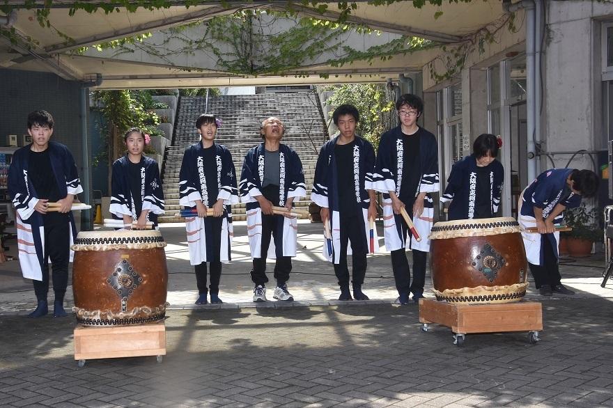 花の文化園、秋のコンサート・太鼓#3 (44)