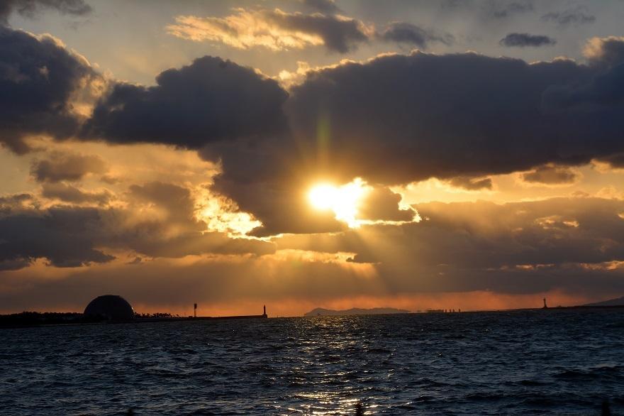 サンセットの夕日2021 (6)