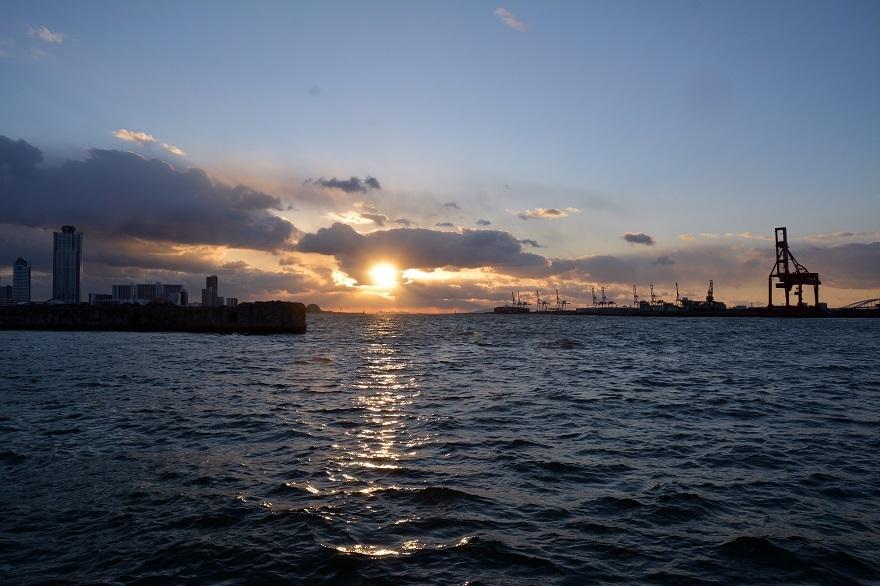 サンセットの夕日2021 (9)