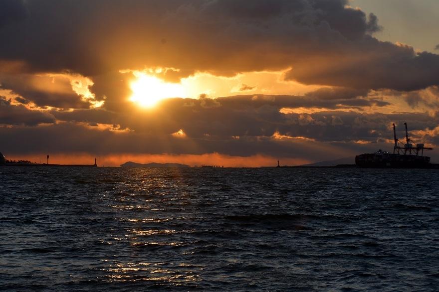 サンセットの夕日2021 (10)
