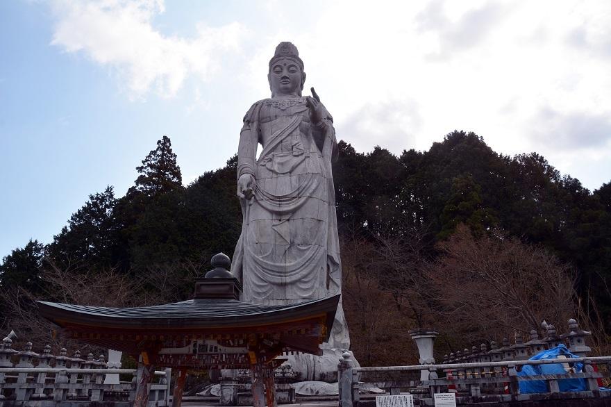 壺阪寺・巨大石像 (0)