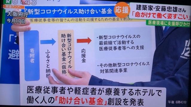大阪 府 新型 コロナ ウイルス 助け合い 基金