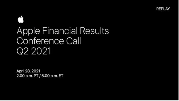 Apple Financial Results - Q2 2021