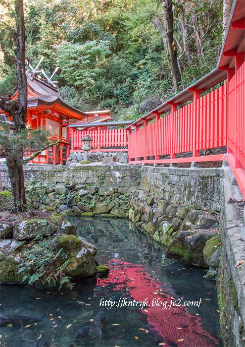 枚岡神社 照沢池