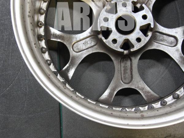ホイールとタイヤからのエア漏れを修理
