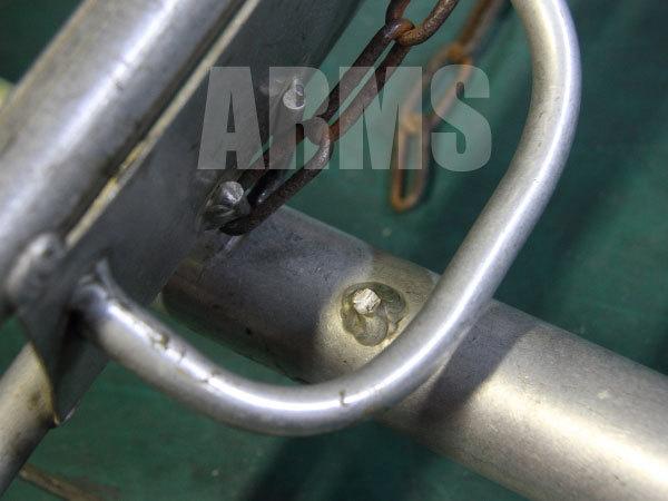 アルミ脚立の溶接修理