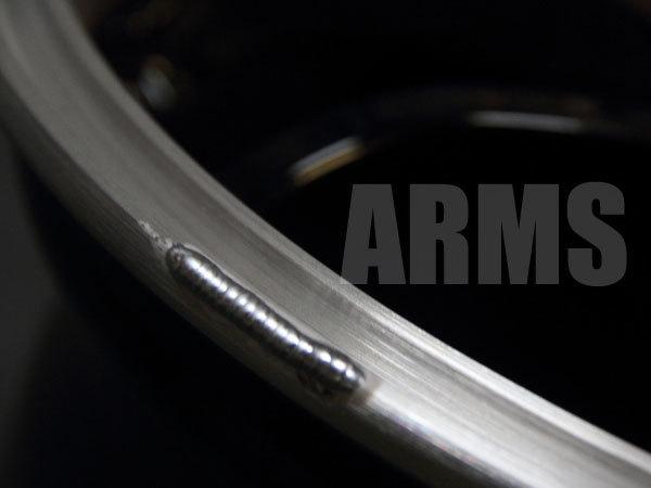 アルミホイールの歪み修正と傷修理の仕方