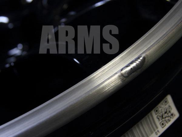 ホイールのリムのガリ傷修理の仕方
