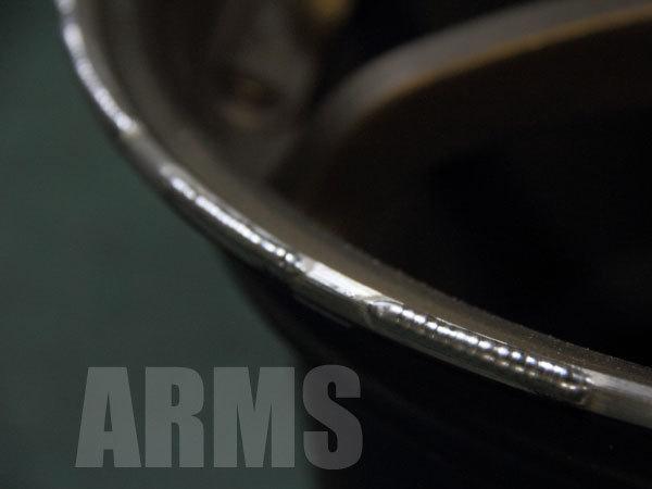 ホイールのガリ傷修理