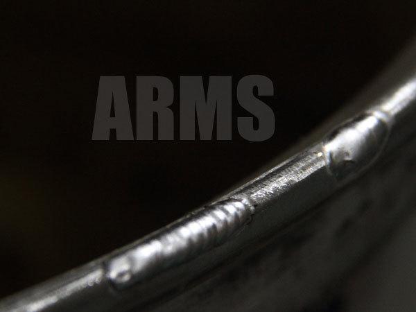 ホイールのリムをアルミ溶接修理