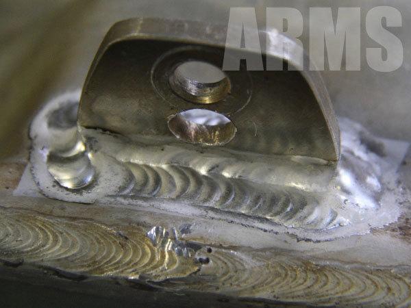 アルミタンクの溶接方法