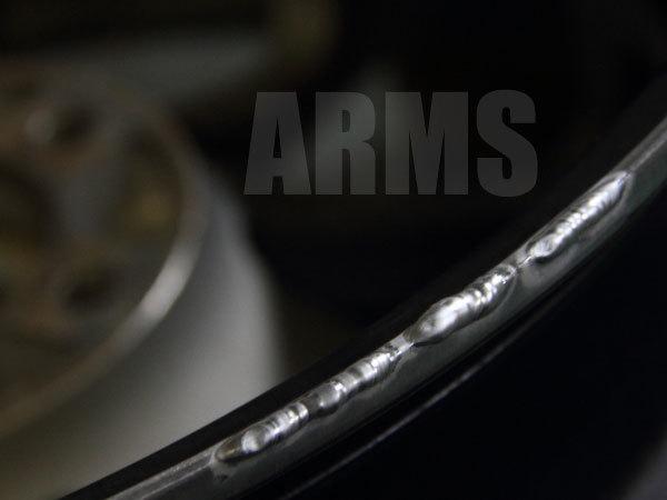 アルミ溶接の方法