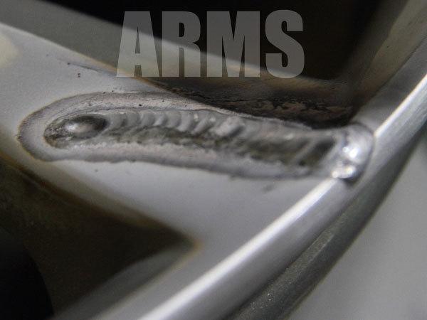 丁寧なアルミ溶接