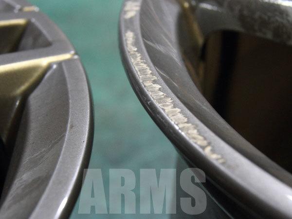 AMGホイールの修理