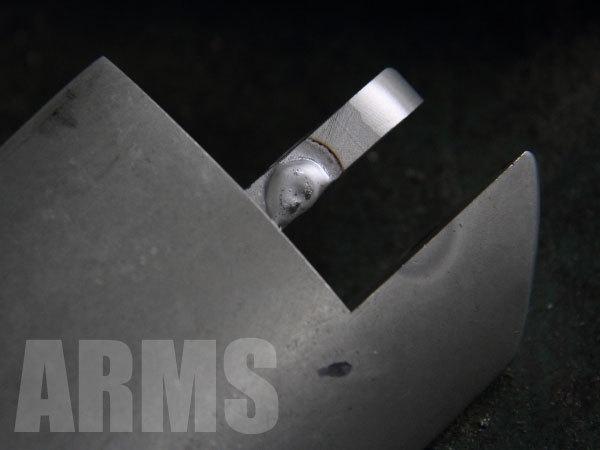 アルミ溶接でドゥカティのスタンドを修理