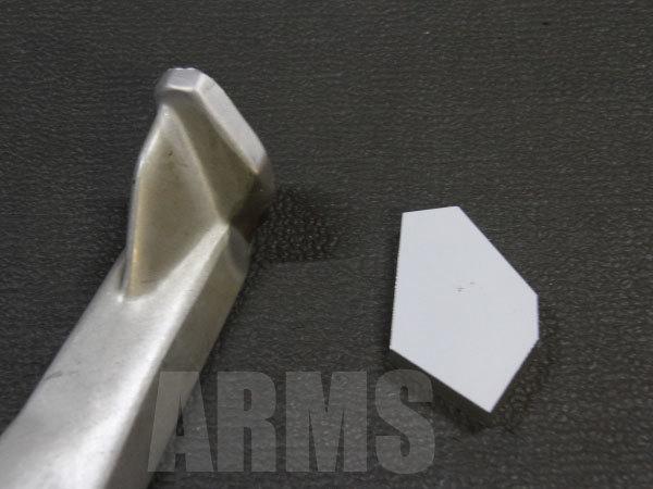 アルミ板をレーザー加工