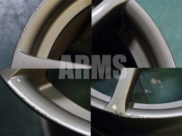 R34 GTR 純正ホイールの修理 リペア