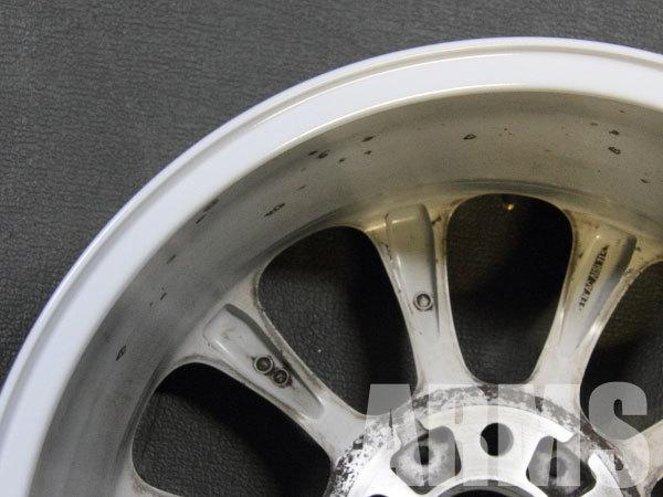 BMW純正ホイールの修理