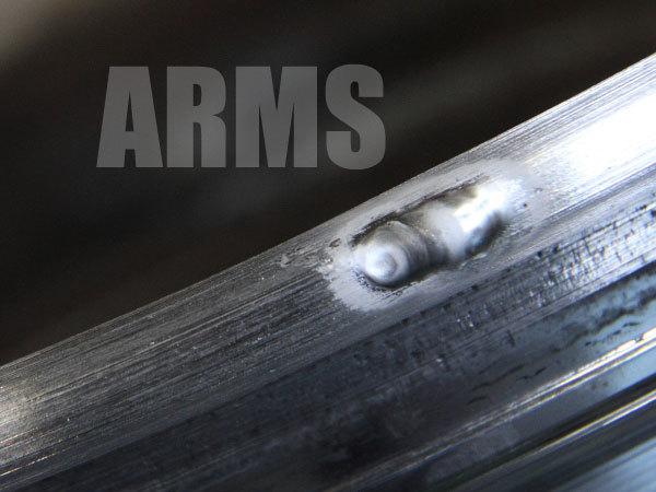 アルミホイールの修理方法