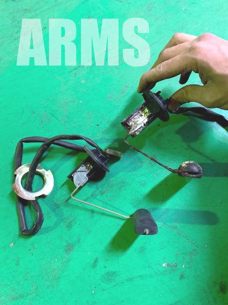 AF18の燃料センサーの修理
