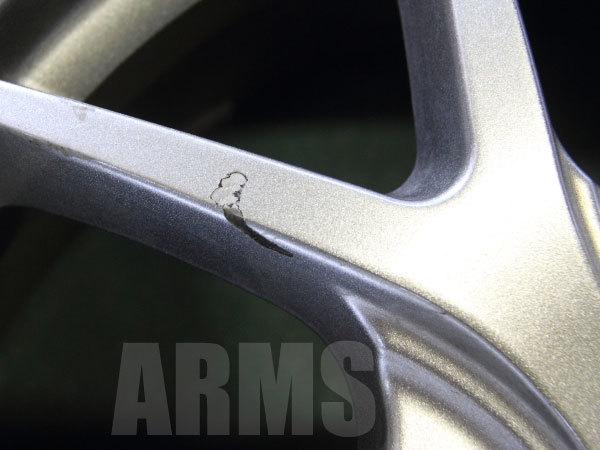 A-TECHのホイールを修理