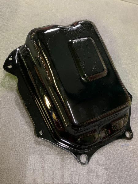 ディオの燃料タンクを修理