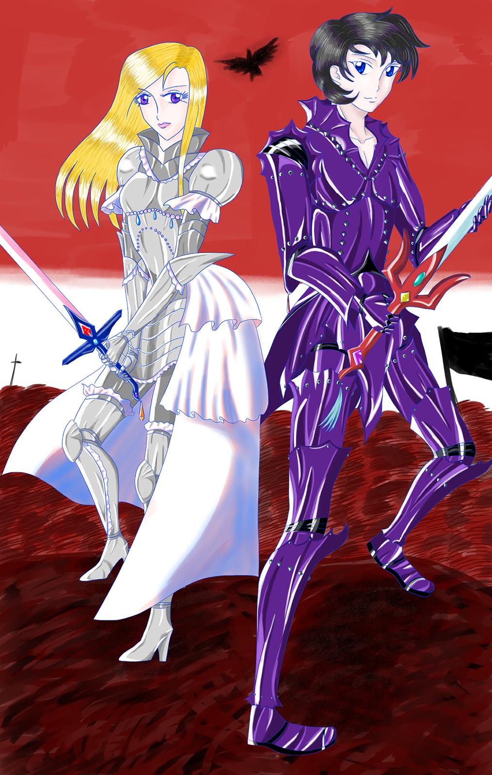 聖騎士と闇騎士