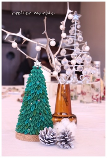 つまみ細工 クリスマスツリー 非売品