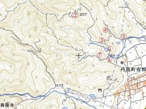 奥徳能林道(仮)地図2