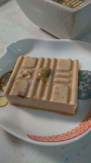 ①ピーナッツ豆腐・食事用 (360x640)