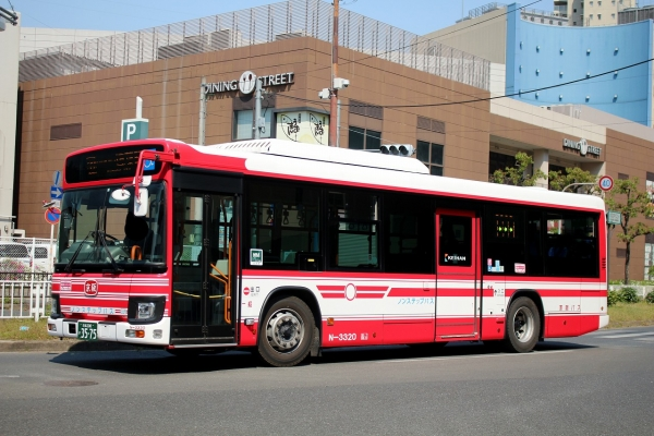 京都200か3575 N3320