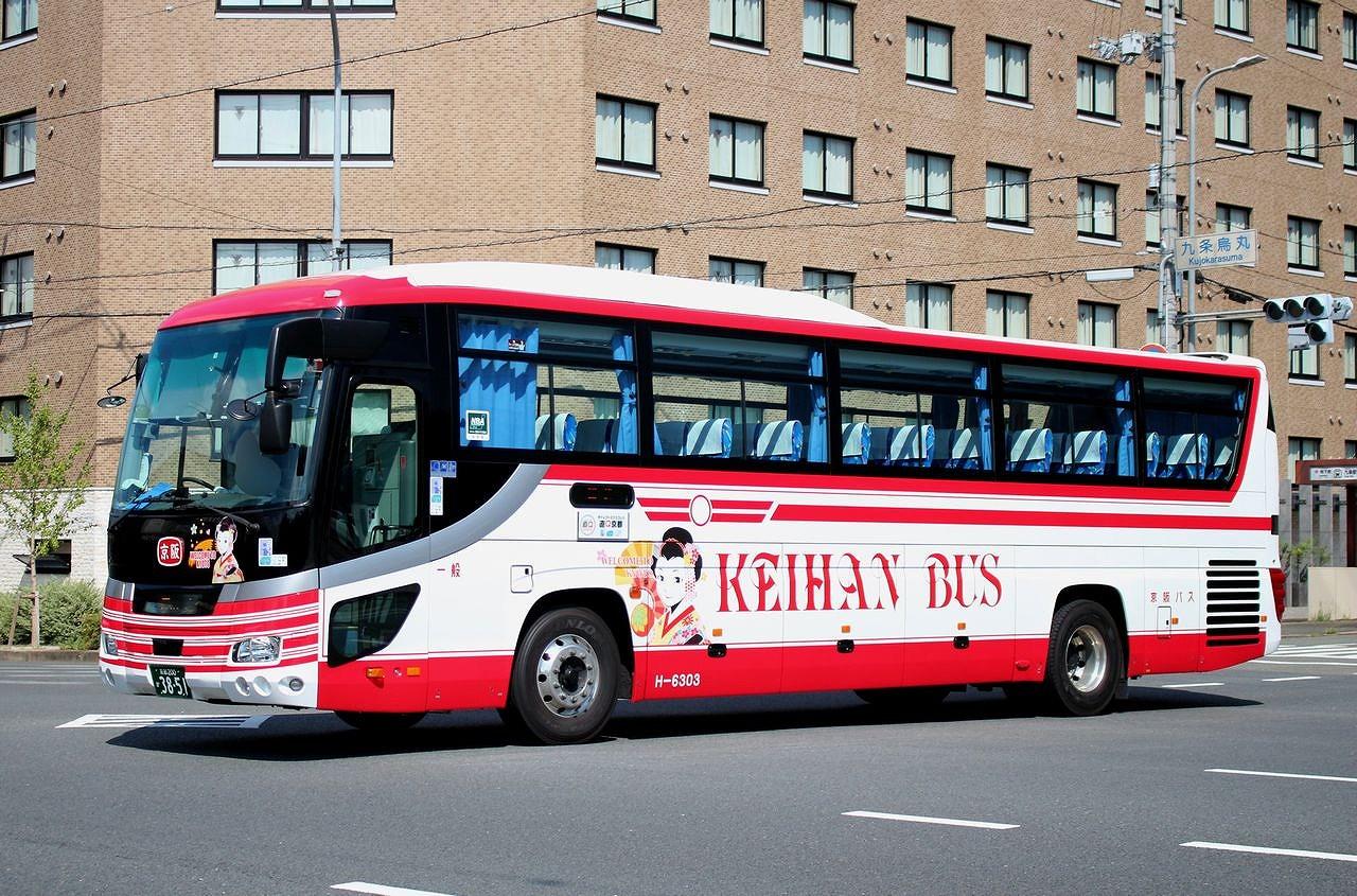 バス三昧 ... 京阪バス H-6303