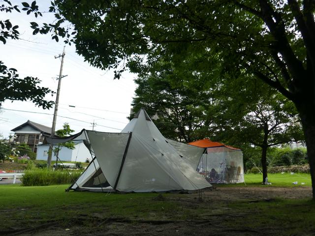 大窪公園キャンプ場2