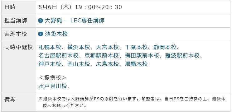 CD日程出願イベント②