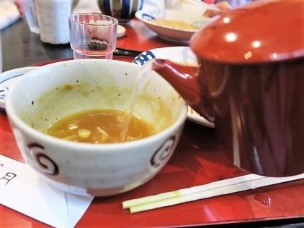 20-10-11 蕎麦湯