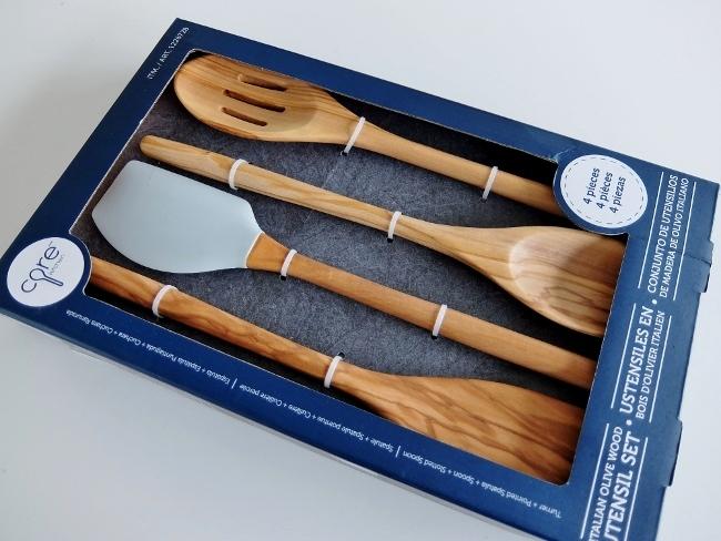 コストコ ◆ Woodn Tool 4Pc 木製キッチンツール 477円也(1,621円引き) ◆