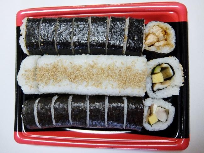 コストコ ◆ バラエティ寿司ロール3本セット 1,480円也(320円引き) ◆
