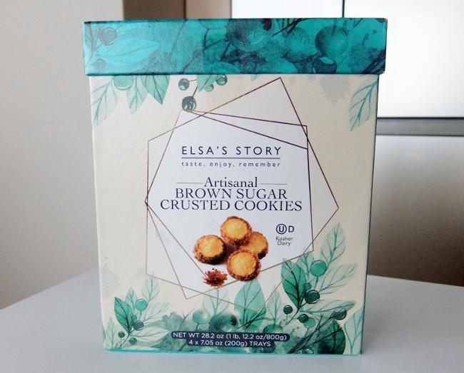 コストコ ◆ Brown Sugar Cookie エルザスストーリー ブラウンシュガークラストクッキー  1,548円也 ◆