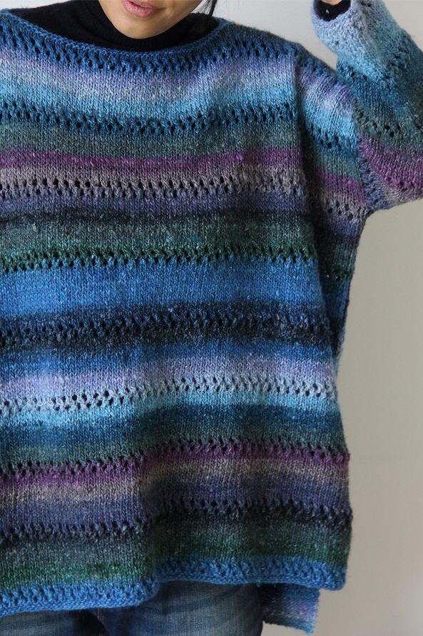 編み物キット野呂英作ゆうぐれ超ゆったりセーター