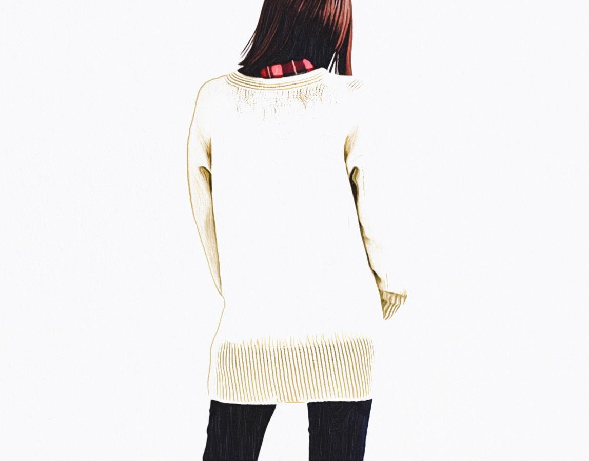 棒針編み無料編み図毛糸ピエロロワゾブリュポケット付きカーディガン2