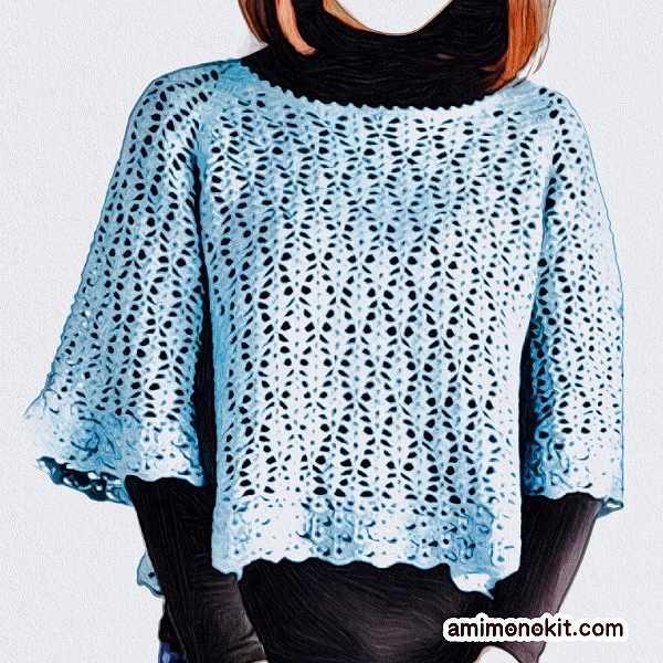 かぎ針編み無料編み図プリンセスリリープル1