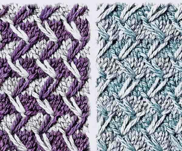 無料編み図棒針編みデザインセーター毛糸手編みプルオーバー4