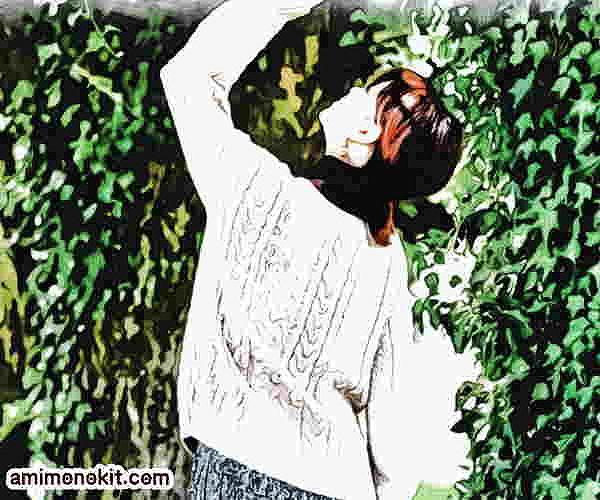 棒針編み無料編み図アラン模様のセーター2