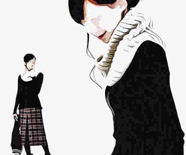 棒針編み3玉スヌード無料編み図イギリスゴム編み3