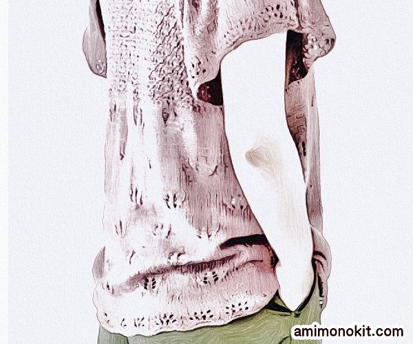 無料編み図プル可愛いフレアスリーブ落ち着きカラー3
