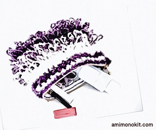無料編み図ポーチかぎ針編みリング編みポップ可愛い小物3