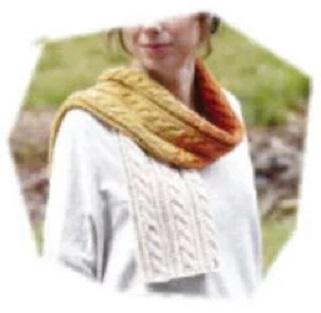 ハマナカ毛糸アメリーのマフラーキットh144-004