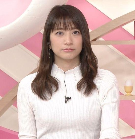 笹崎里菜のニットおっぱいがタイトでエロ過ぎる!!&中川絵美里、内田敦子 (17)