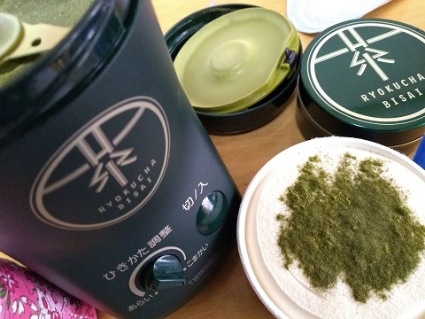 お茶挽き器